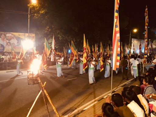 Perahera Festival parade