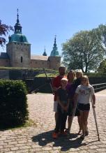 Outside Kalmar Slott